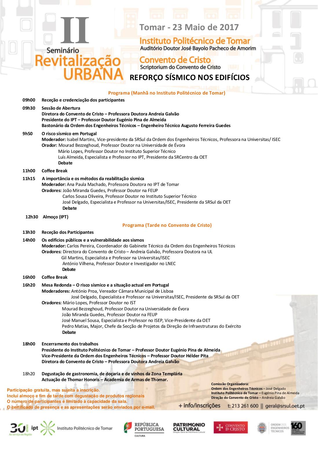 programa do evento