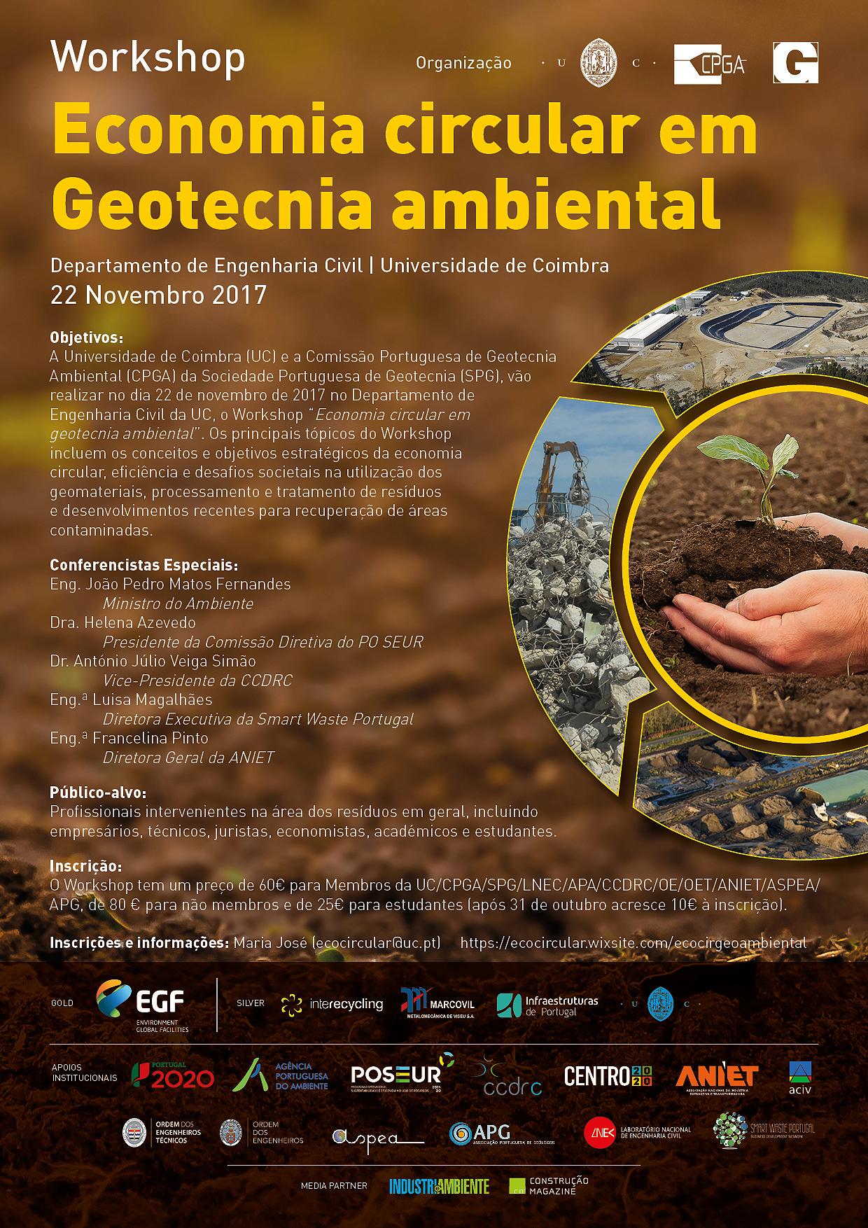 Economia Circular em Geotecnica Ambiental