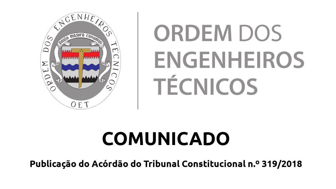 Comunicado acerca do acórdão do TC